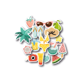 Die-Cuts – Sunny Days Figures