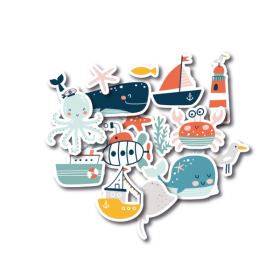 Die-Cuts – Sea Life Figures