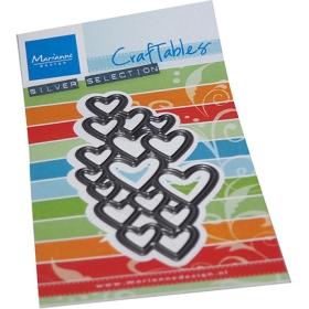 CR1555 - Art Texture - Hearts