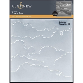 Cloudy Day 3D Embossing Folder