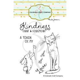 Kindness First Clearstamps...