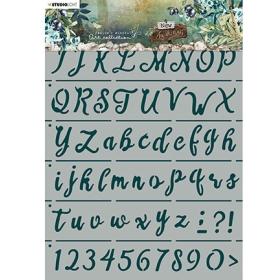 Mask Alphabet Hand...