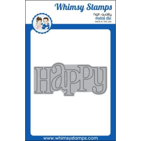 Whimsy Stamps - Happy Large...