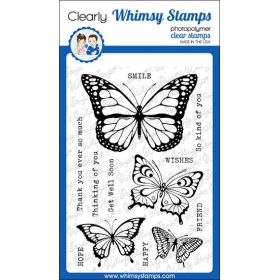 Whimsy Stamps - Butterflies...