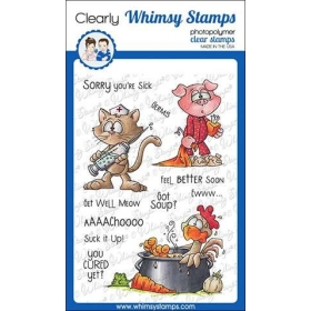 Whimsy Stamps - Get Well...