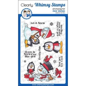 Whimsy Stamps - Frosty Hugs...