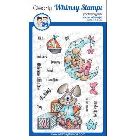 Whimsy Stamps - Bunny...