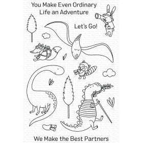 Dino Adventure Clearstamps