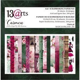 Carmen - Paperpad 15x15