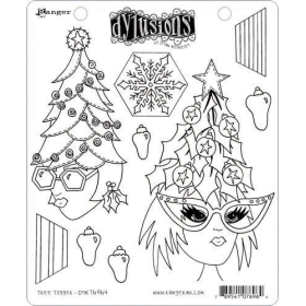 Dylusions - Tree Topper...