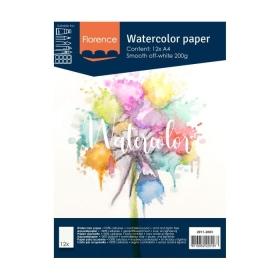Florence - Aquarelpapier A4...