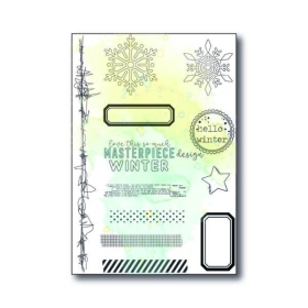Clearstamp 4×6″ – Hello Winter