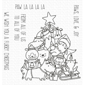 Paw La La La La Clearstamps