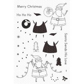 Santa Sends His Love...