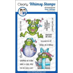 Whimsy Stamps - Mistletoads...