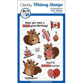 Whimsy Stamps - Beaver...