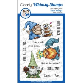Whimsy Stamps - Gnome...