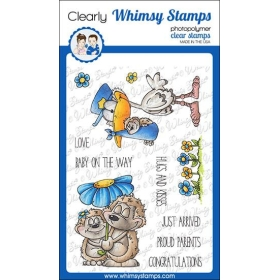 Whimsy Stamps - Hedgie Love...