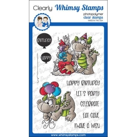 Whimsy Stamps - Birfday...