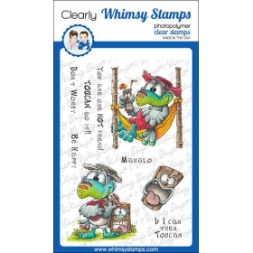 Whimsy Stamps - Tropical...
