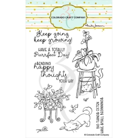 Keep Growing Clearstamps -...