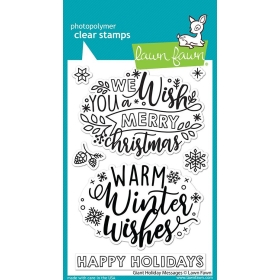 Giant Holiday Messages Stamps