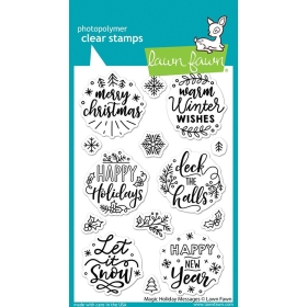 Magic Holiday Messages Stamps