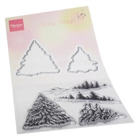 TC0887 - Tiny's Snow Village
