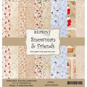 Reprint Snowman & Friends...