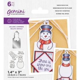 Snow Much Fun Stamps & Dies