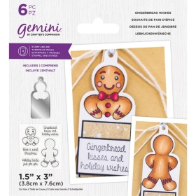 Gingerbread Whishes Stamps...