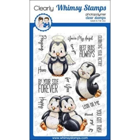 Whimsy Stamps - Penguin...