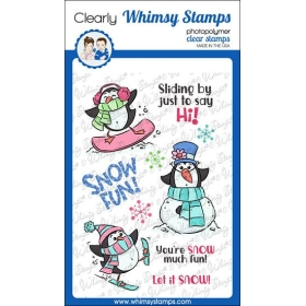 Whimsy Stamps - Snow Fun...