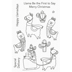 Happy Llamadays Clearstamps