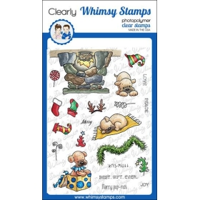 Whimsy Stamps - Pups for...