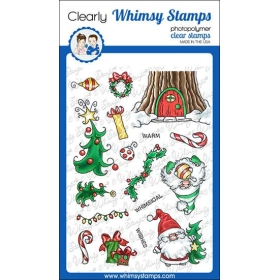 Whimsy Stamps - Gnome Warm...