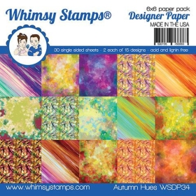 """Whimsy Stamps - 6x6"""" Paper..."""