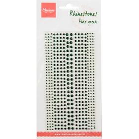 Rhinestones - Pine green