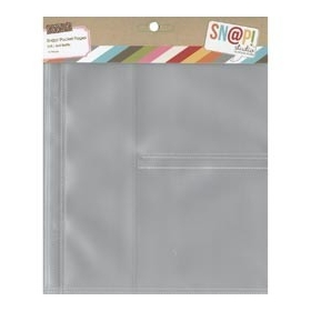 """Sn@p Pocket Pages 1 - 2"""" x 8"""" / 2 - 4"""" x 4"""""""