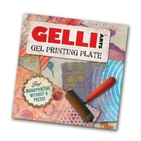 """Gel Printing Plate 6"""" x 6"""""""