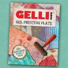 """Gel Printing Plate 8"""" x 10"""""""